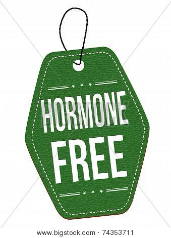 Hormone Free Label Or Price Tag