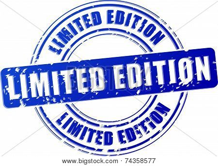 Limited Edition Blue Stamp