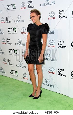 LOS ANGELES - OCT 18:  Malin Akerman at the 2014 Environmental Media Awards at Warner Brothers Studios on October 18, 2014 in Burbank, CA
