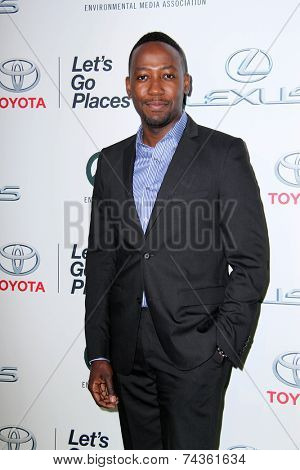 LOS ANGELES - OCT 18:  Lamorne Morris at the 2014 Environmental Media Awards at Warner Brothers Studios on October 18, 2014 in Burbank, CA