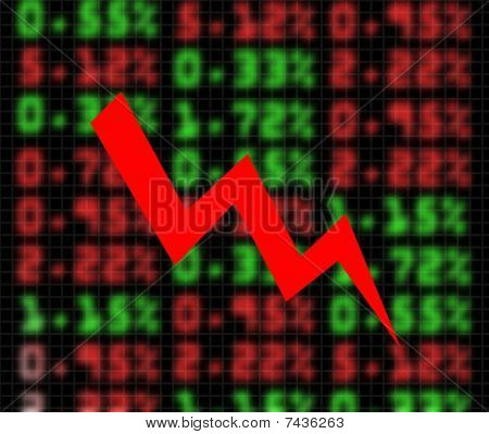 Stock Market Exchange Going Down