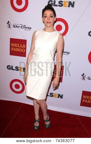 LOS ANGELES - OCT 17:  Rose McGowan at the 10th Annual GLSEN Respect Awards at Regent Beverly Wilshire on October 17, 2014 in Beverly Hills, CA