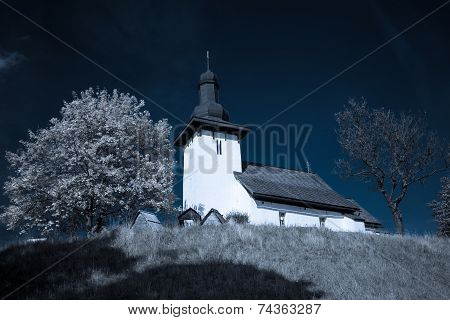 Templar church at village Martincek - Slovakia
