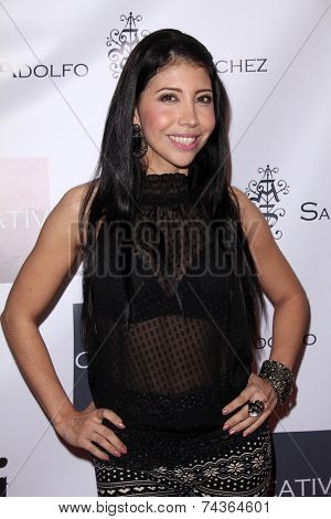 LOS ANGELES - OCT 20:  Flakiss at the Creativ PR Collections at Fashion Week at Mondrian on October 20, 2014 in West Hollywood, CA