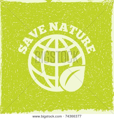 Eco energy poster