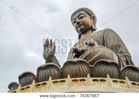 Tian Tan Giant Buddha at Po Lin Monastery Hong Kong