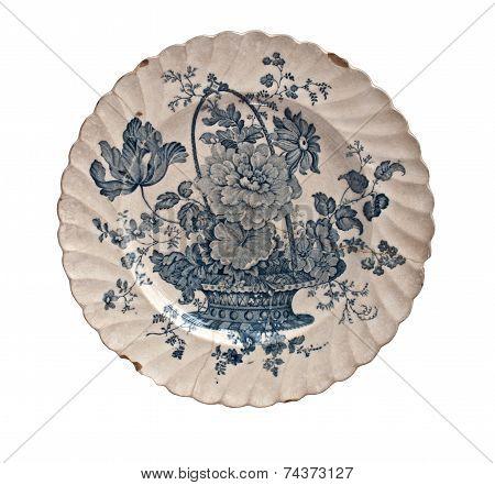 Vintage Porcelain Plate