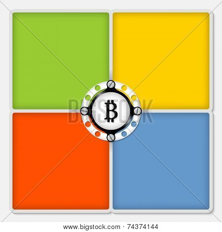 Four Colored Frames