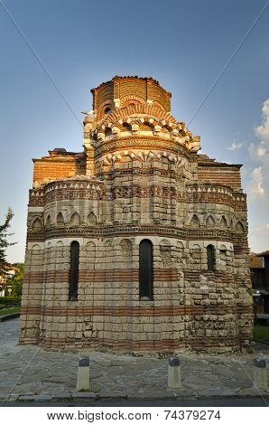 Church Pantocrator Christos In Nessebar From The 13Th Century In Bulgaria