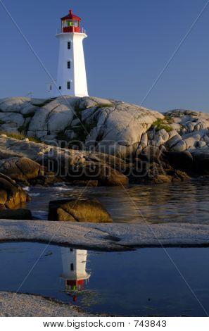 Faro de Peggys Cove
