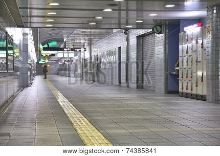 Subway In Osaka, Japan