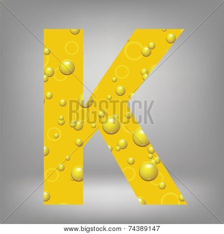 Beer Letter K