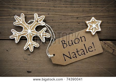 Italian Christmas Greetings With Ginger Breads