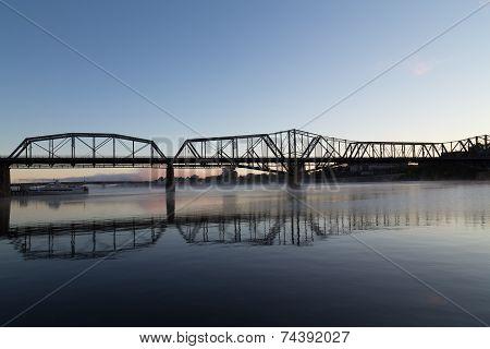 Alexandra Bridge In Ottawa