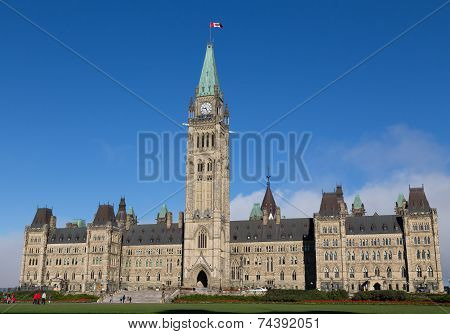 Houses Of Parliament - Ottawa