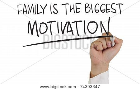 Family is The Biggest Motivation