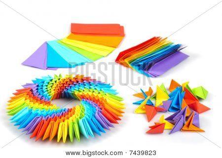 origami papers patterned rainbow 171 embroidery amp origami