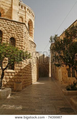 Street in old city of Jerusalem