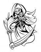 picture of reaper  - Grim Reaper Editable  - JPG
