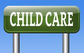 picture of babysitting  - child care or protection in daycare or cr - JPG