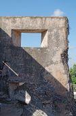 image of sari  - ruins at pulo cemeti taman sari water castle  - JPG