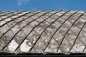foto of sari  - concrete roof at taman sari water castle  - JPG