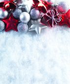 pic of christmas bells  - Winter and Christmas background - JPG