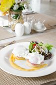 picture of benediction  - Eggs Benedict - JPG
