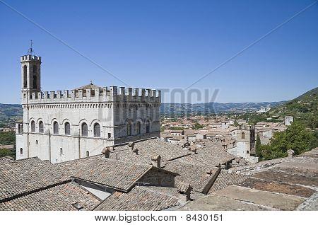 Consul Palace. Gubbio. Umbria.