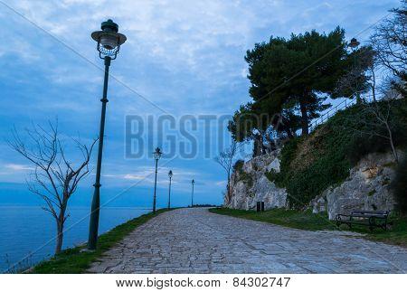 Promenade in Rovinj