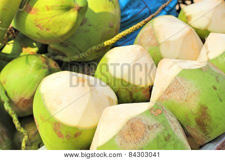 Coconut Water Fresh Is Sweet For Drink