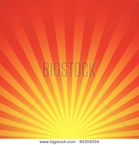 Abstract Sunrise Vector