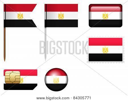 Egypt Flag Set