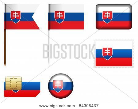 Slovakia Flag Set