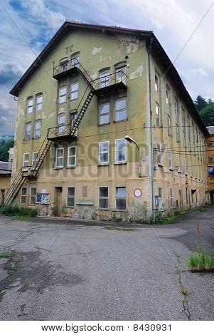 Schindler's Abandoned Factory at Brünnlitz