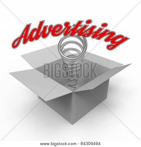 Concept For Advertising Industry.