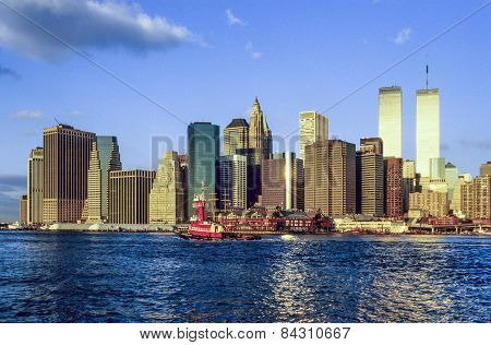 Twin Towers In New York