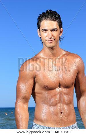 Sexy Caucasian Fit Man
