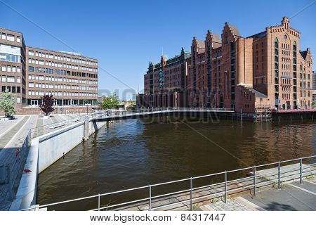 Maritime Museum In Hamburg, Germany