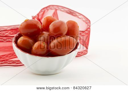 Bowl Filled With Tomatoes