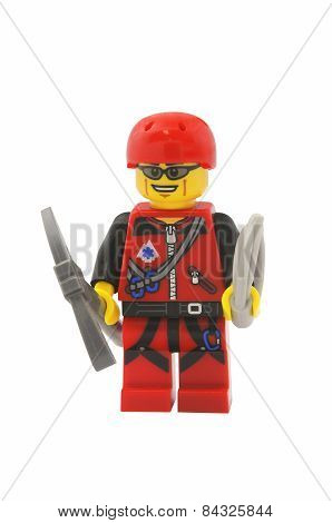 Mountain Climber Lego Minifigure