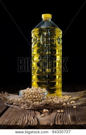 Portion Of Soy Oil