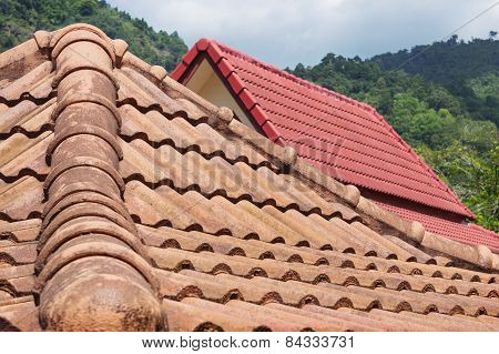 Tiled Roofs. Thailand