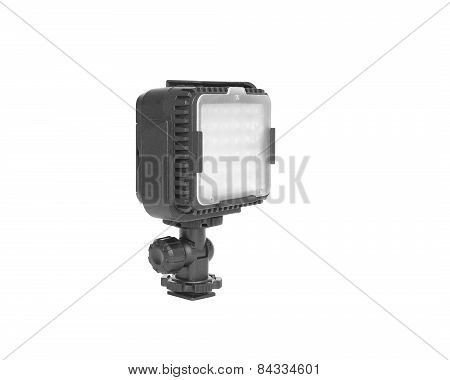 Photography led light with cover glass