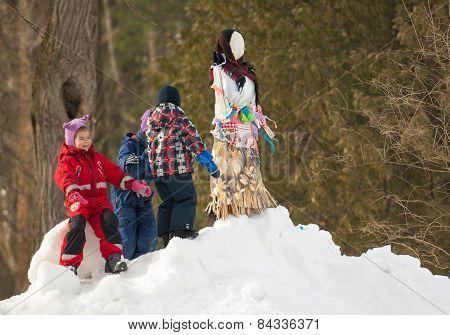 Doll Of Maslenitsa Hill