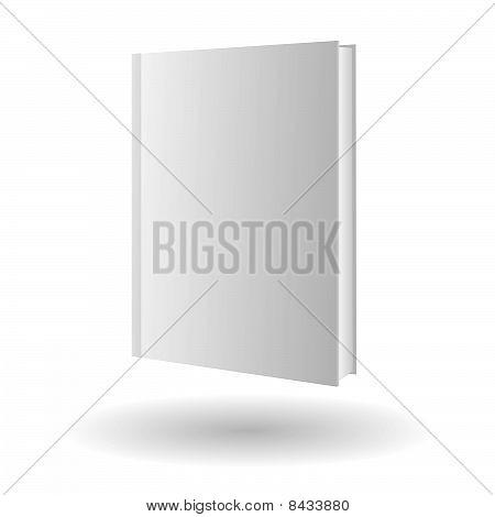Icono de libro de vector aislada