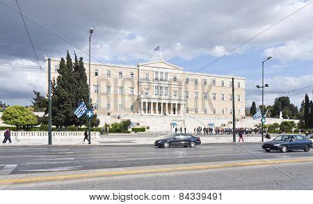 ATHENS, GREECE ON APRIL 15.