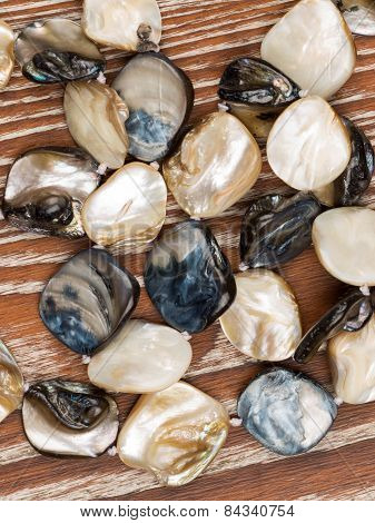 Beads Made Of Natural Nacre