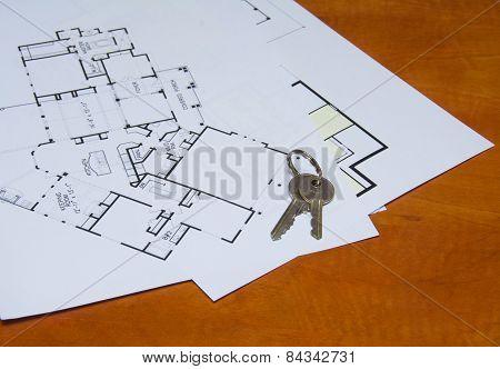 Key On House Plan