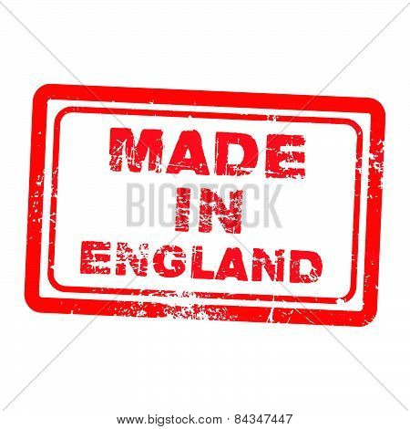 Made In England Stamp